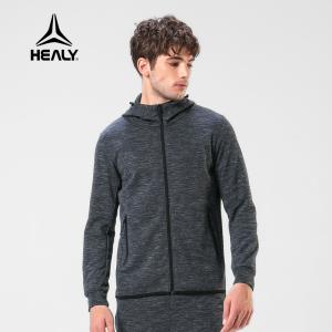 HEALY希利运动男士卫衣套装跑步健身训练休闲长袖保暖运动外套