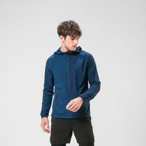 HEALY希利运动训练皮肤衣户外防风超薄透气健身跑步带帽速干衣