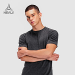 HEALY希利都市运动短袖男透气速干衣跑步健身T恤FUSION TECH TEE