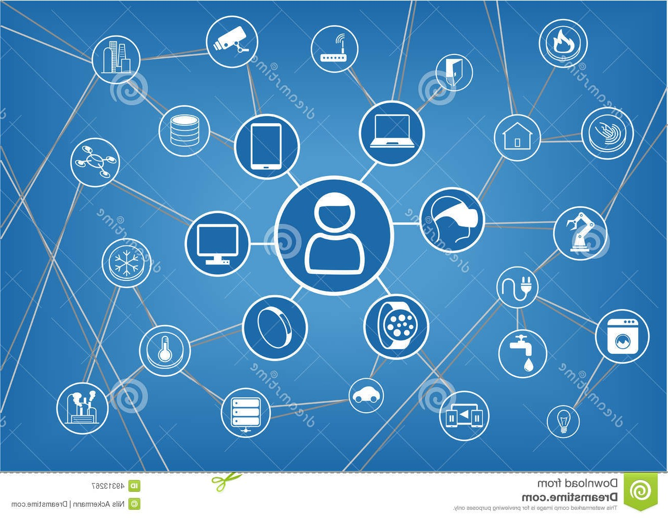 http://www.dreamstime.com/royalty-free-stock-photography-internet-things-represented-consumer-connected-devices-as-illustration-objects-smart-phone-smart-thermostat-tablet-image49313267