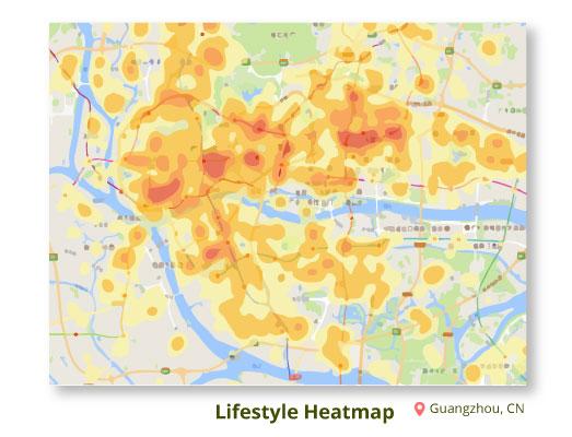 Lifestyle-Heatmap-Guangzhou,-CN