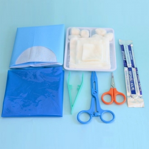 Kit de Pansement stérile jetable
