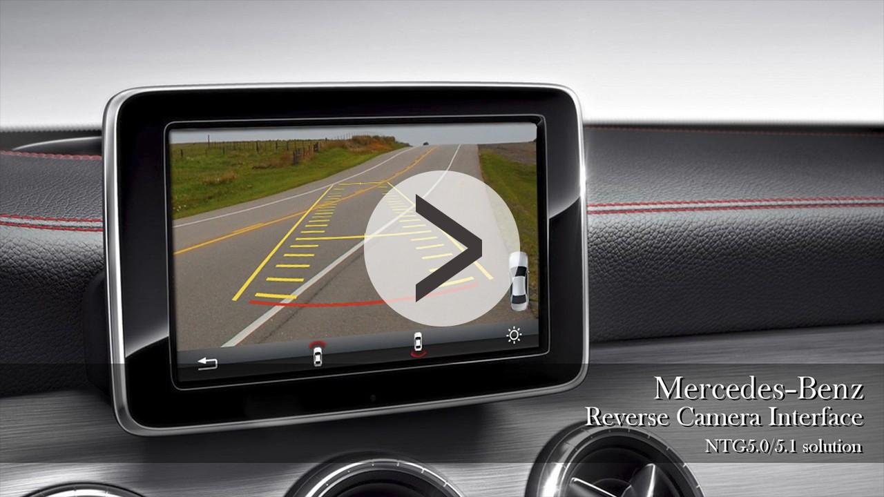 Mercedes-Benz Reverse Camera