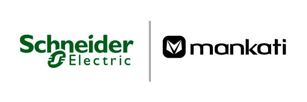 Mankati与施耐德公司联合logo