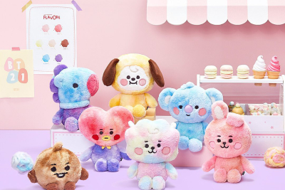 BT21 BABY Cotton Candy Plushies 86Fashion Custom Plush Manufacturer