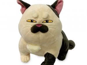 Machiavelli Plush, Cat from Luca Plush Custom Plushies Maker