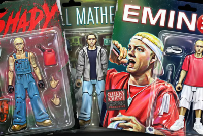 Eminem Action Figure,Custom NFT Action Figurine