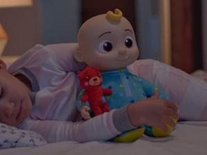 Bedtime JJ Doll, Soft Plush Body cocomelon plush doll, 86fashion custom doll manufacturer
