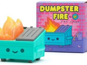 Dumpster Fire Custom Vinyl Figure - 86fashion