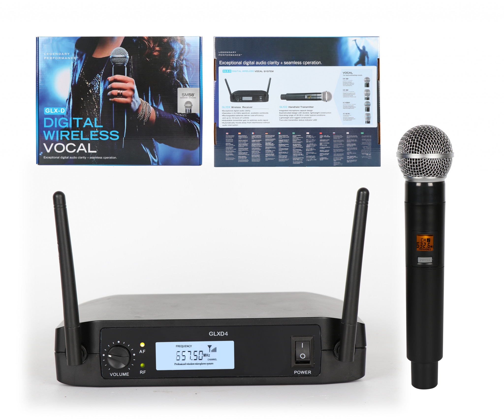 SINGLE CHANNEL UHF WIRELESS MICOPHONE