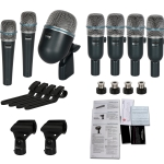 Drum Set Microphone Kit