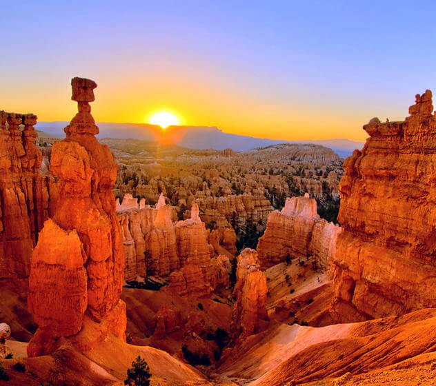 Bryce Canyon National Park Cut