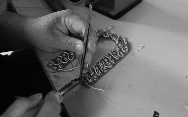Welding process 焊接作业