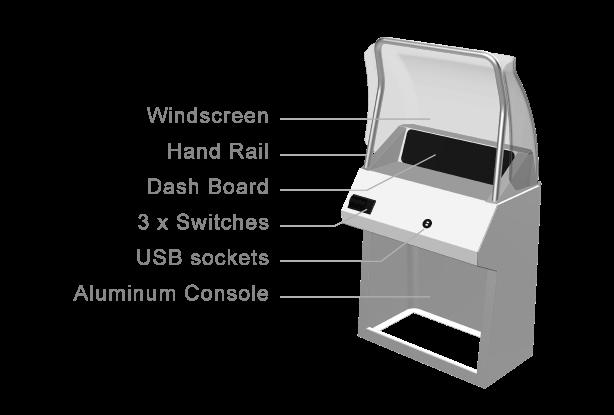 BST Aluminum Console II