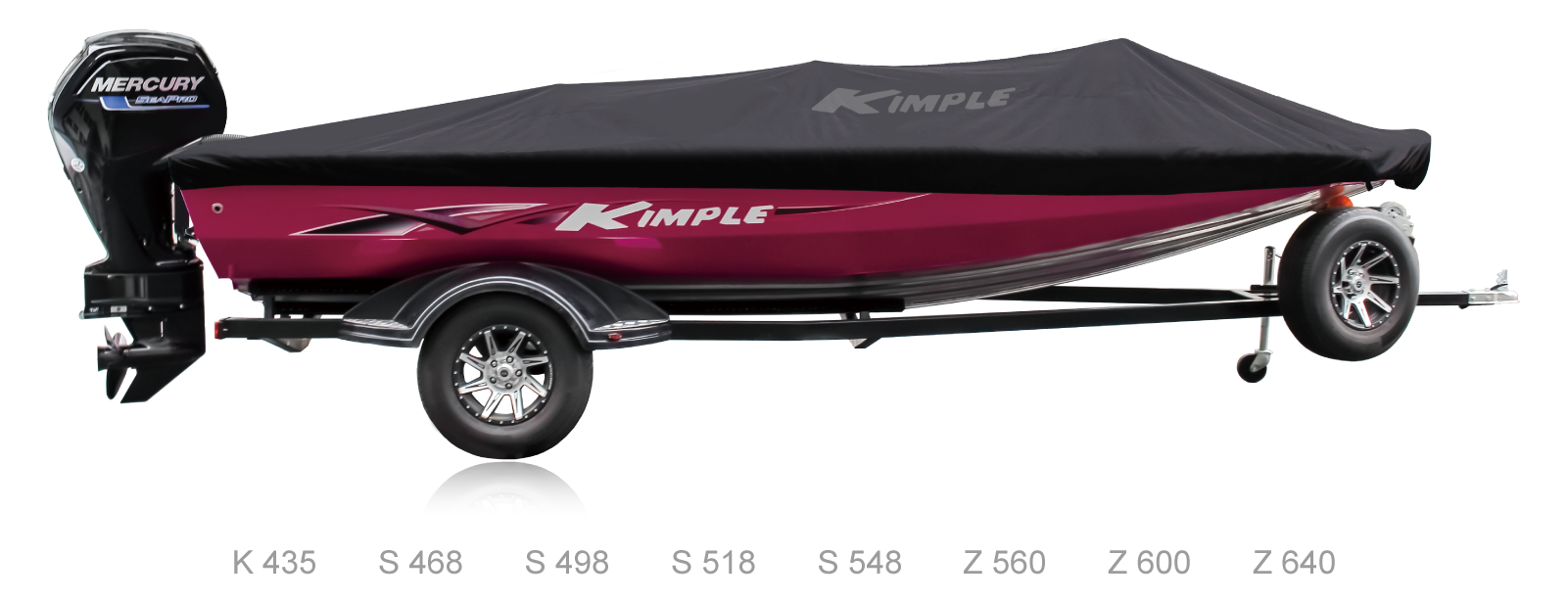 Kimple boat cover