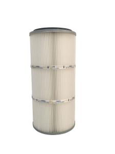 spun bonded polyester air filter cartridge