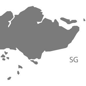 99805393-singapore-map-grey
