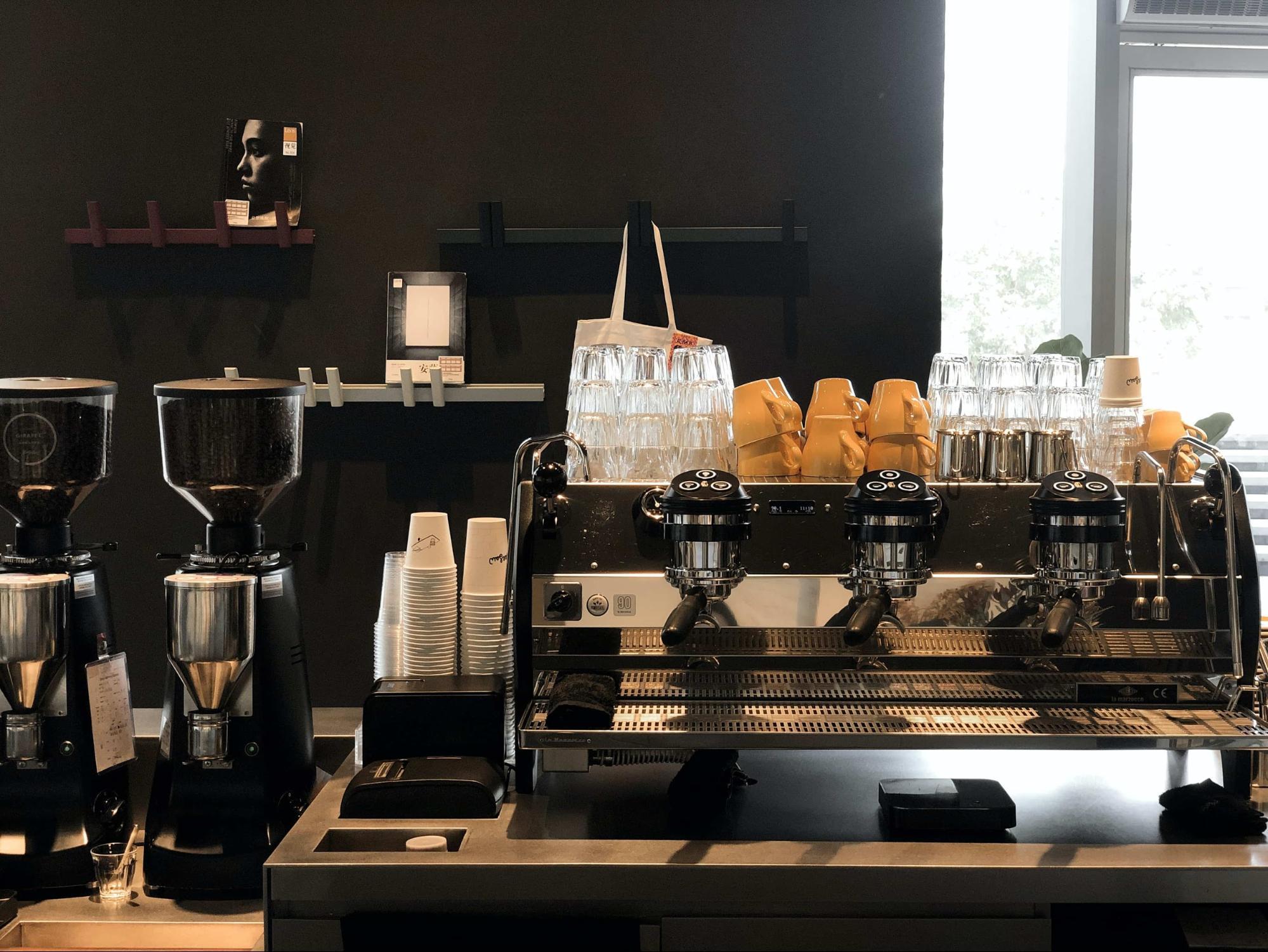 咖啡店設備清單