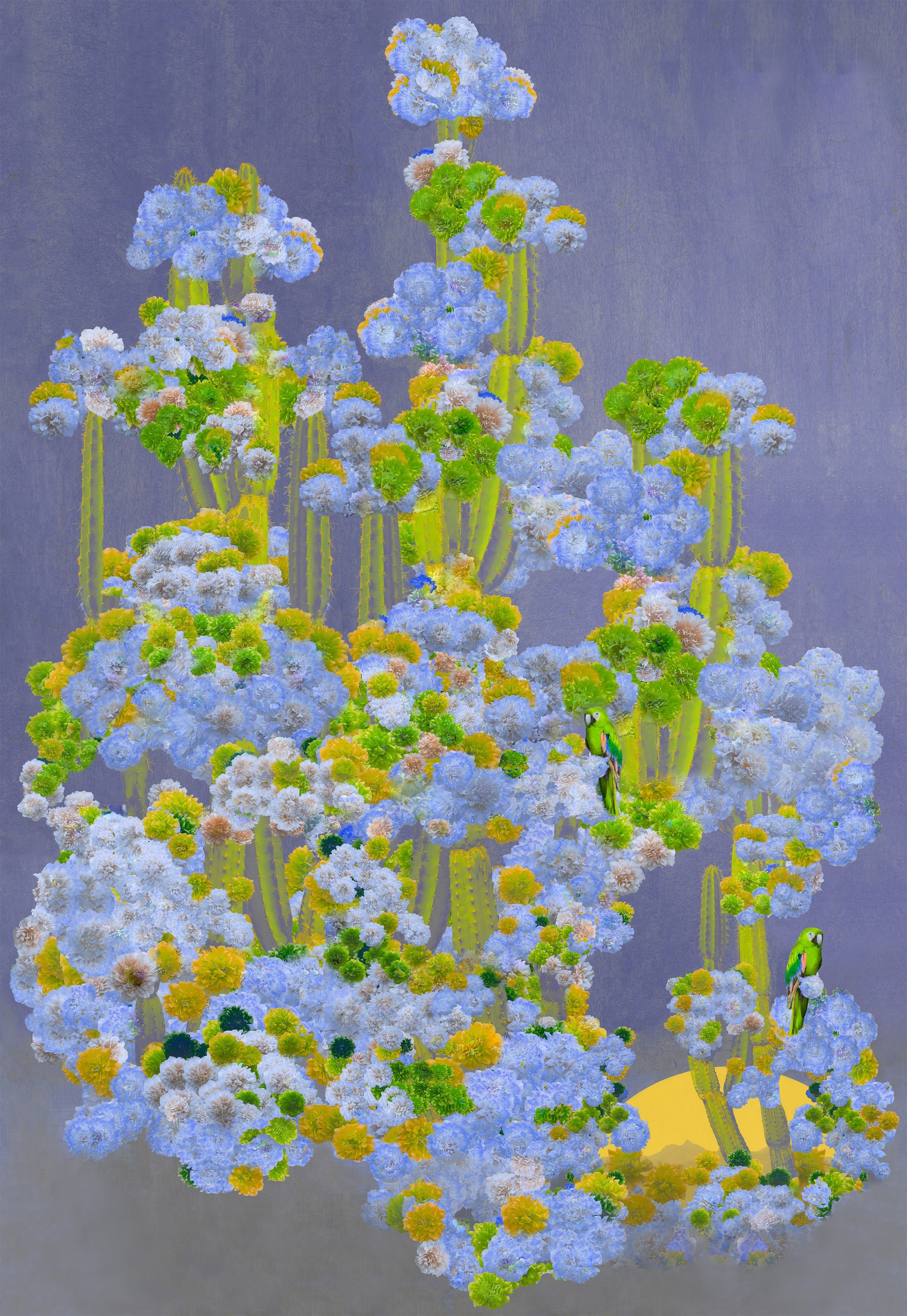 Cactus Forest-Lilac