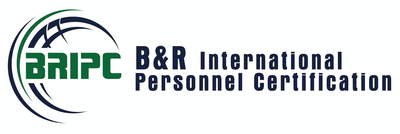 B&R International Personnel Certification