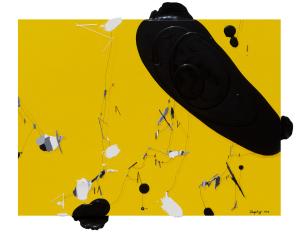 《Crystal 2018-10》-60cm×80cm-布面油画与丙烯-2018