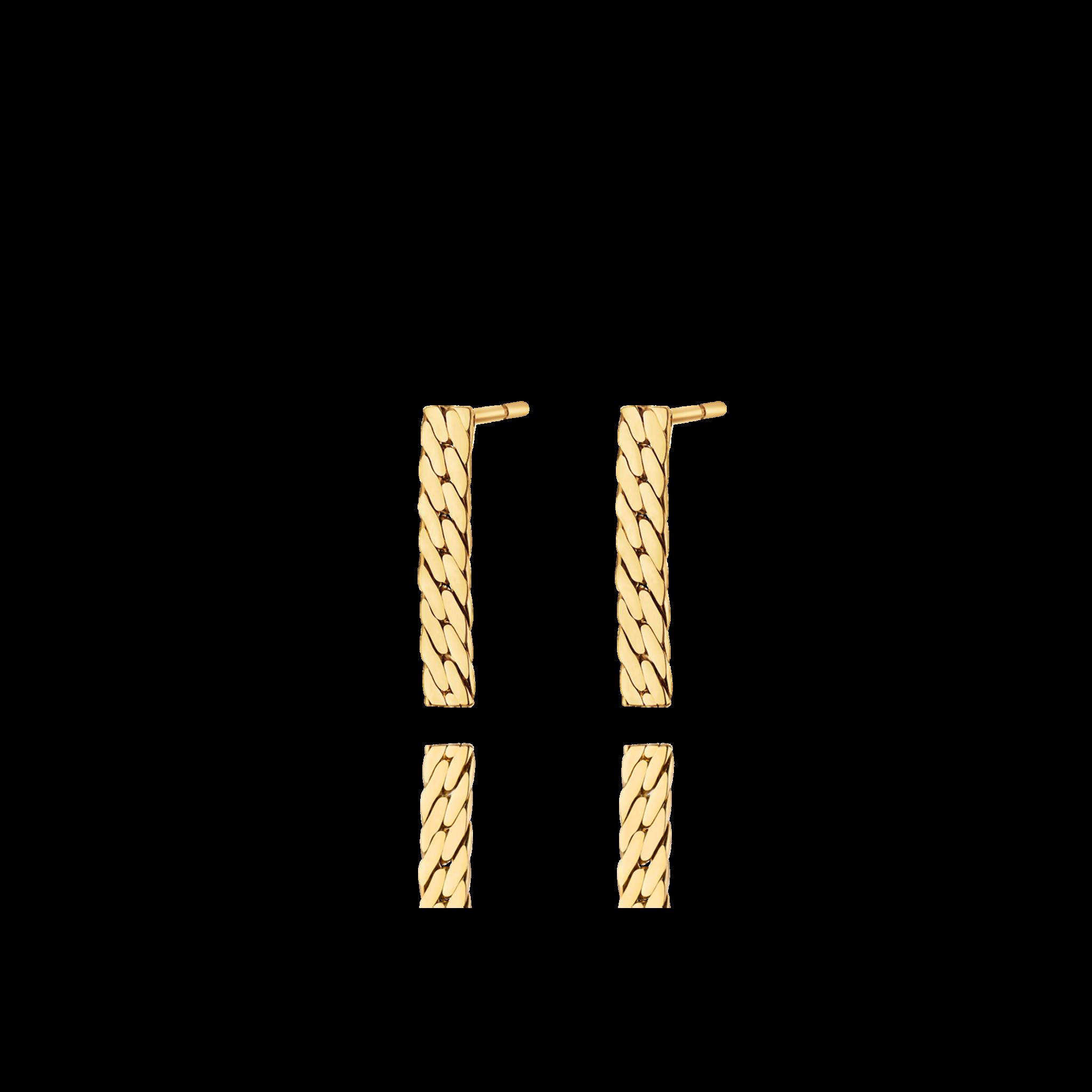 Retta 18K黄金耳环 2699