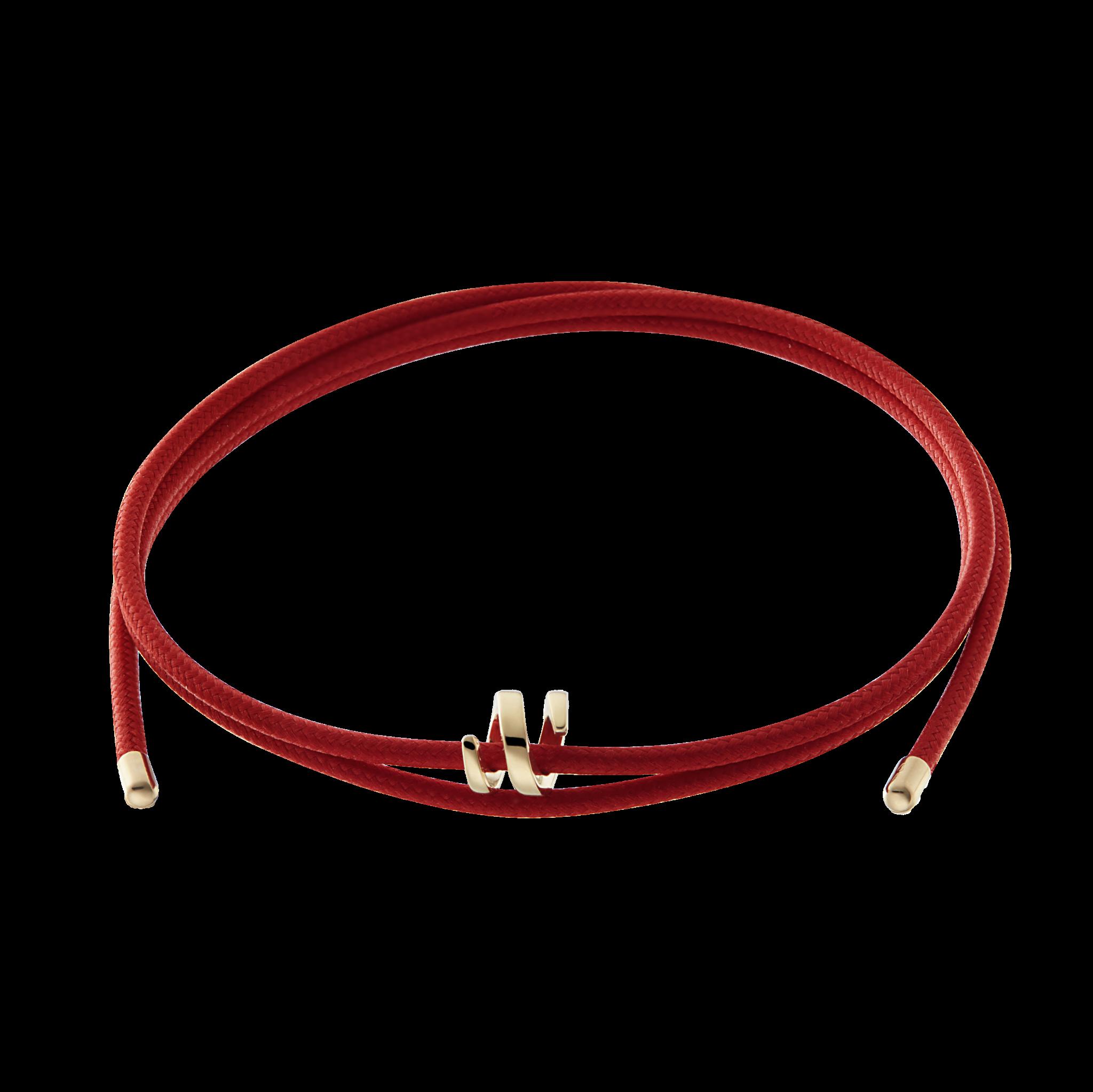 RASEN Collection 手绳-红 399