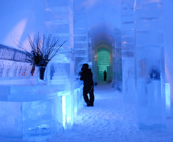 Absolut Ice Bar - Ice Hotel
