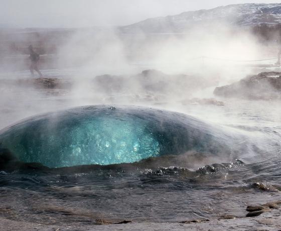 盖歇尔间歇泉Geysir (7)