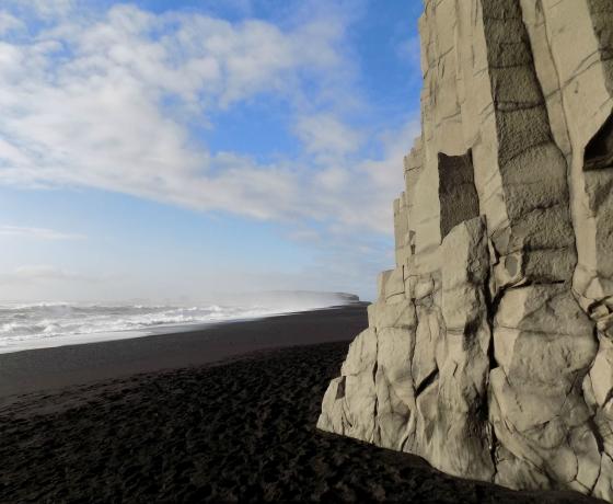 黑沙滩 Reynisfjara (1)