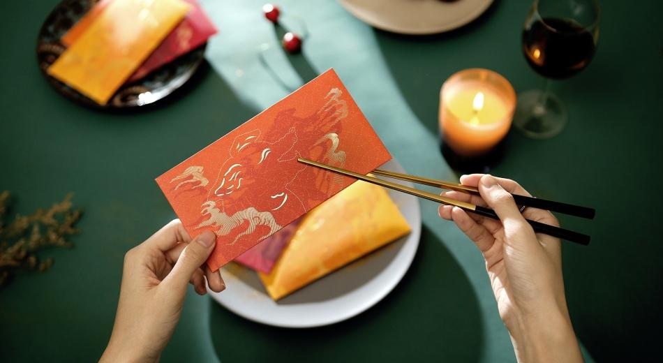 文创 ·「兽色可餐」皮影瑞兽红包