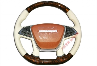 Fashionable steering wheel