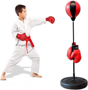 ShaggyDogz 儿童拳击手套+沙包训练套装