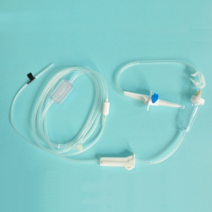 Infusion Set with Precision Filter