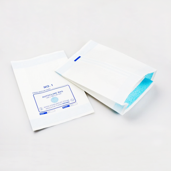 Gusseted Sterilization Paper Bag