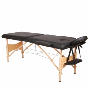wooden portable massage table bed