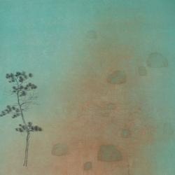 朱建忠, 无题03, 68x45cm, 纸本水墨, 2015