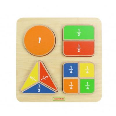 分數木製學習板