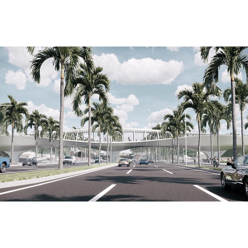 >>> Haikou Pedestrian Bridge