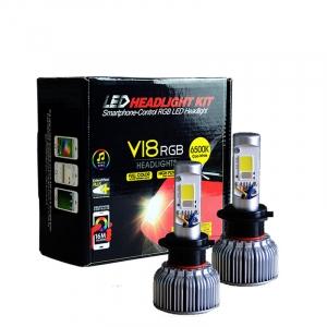 rgb led headlight
