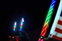 led whip phone controlled