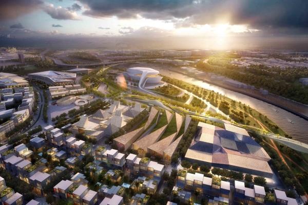 摩洛哥拉巴特新城规划