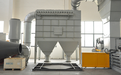 Combustible dusts are fire and explosion hazard which can result in deadly damage, it also causes worker's health issue and brings trouble for maintenance. Baghouse dust collector can efficiently remove the dust from the conveying air.