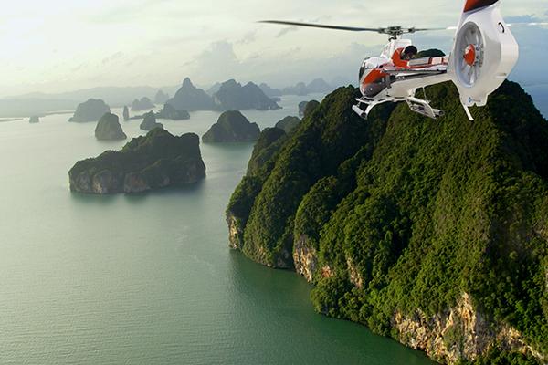 60 分钟直升机飞越普吉岛和攀牙湾